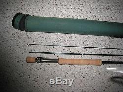 St. Croix Legend Ultra UFT9010 9' 10 weight 3 piece fly fishing rod & case