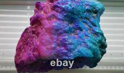 Stunning Large Heavy Unicorn Aura Quartz Geode Piece, Healing Crystal