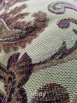 Tache 6 Piece Exotic Blooms Floral Paisley Heavy Luxury Jacquard Comforter Set