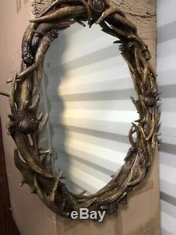 Timothy Oulton Antler Mirror BNIB Unique Piece Very Heavy