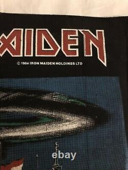 Vintage As New Iron Maiden Back Patch, 2 Minutes To Midnight 1984. Heavy Metal