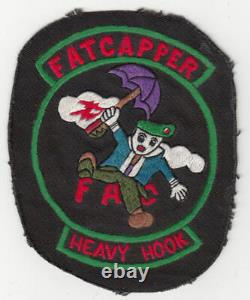 Wartime MAC V SOG, CCN, Heavy Hook Patch, FAC Insignia