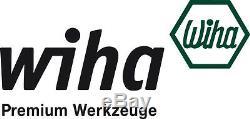 Wiha 10 Piece SoftFinish Extra Heavy Duty Slotted / Phillips Screwdriver Set