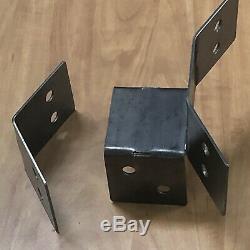 12pc Bracketing Pour Hexagone Fabriqué En 4x4 Messages Heavy Duty Boutique Table Pergola
