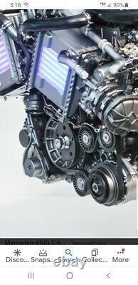 2015-2021 Mercedes Amg M177 C63/ Glc63 Lourd 5 Pièces De Billetterie Idler Kit