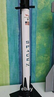 3 Piece Set Spacex Falcon 9 Lourd, Falcon 9 Crew Dragon Capsule Et Falcon