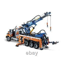 42128 Lego Technic Camion De Remorquage Lourd Avec Grue Comprend 2017 Pièces Âge 11+