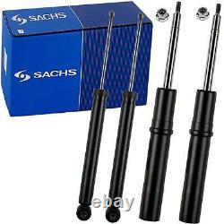 4x Sachs Gaz Stoßdämpfer S-line + Domlager + Service Kit Audi A4 (b8) A5 (8t, 8f)