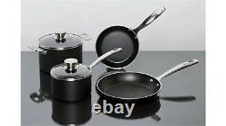 Ballarini Verona Premium 6 Piece Cookware Set Pot Pan Set Non-stick Heavy Gauge