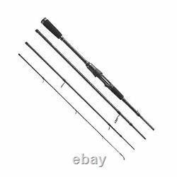 Berkley Naumad 7ft 8ft & 9ft Travel 4 Piece Spinning / Lure Fishing Rod