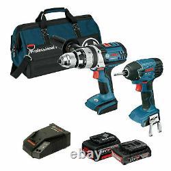 Bosch Professional 18v 2 Piece Heavy Duty Kit Germany Brand
