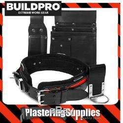 Buildpro Plâtriers Set 4 Pièces Hangers En Cuir Robuste Brochage Phs