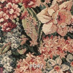 Century Furniture Vtg 1997 Tapisserie Rembourrage Tissu Floral 5+ Yards Grade 22