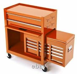 Cycle Mtb Bike Mechanic Heavy Duty Two Piece Professional Tool Cabinet / Coffre