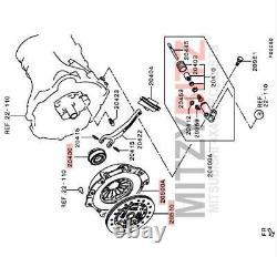 Duty 3 Piece Clutch Kit Mitsubishi L200 Ka4t Series 4 2.5 DID 05-21