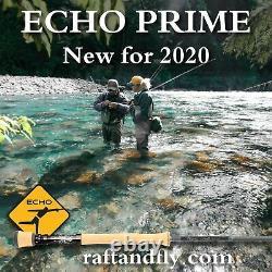 Echo Prime 10wt 8'10 4-piece Fly Rod Garantie À Vie Livraison Gratuite
