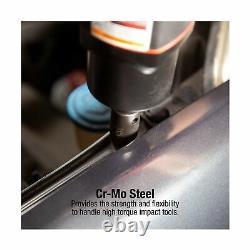 Ensemble De Chaussettes Sunex 2669 Drive Master Impact 1/2 Pouce 39 Pièce 9mm 30mm Poids Lourd