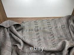Ermenegildo Zegna 2,2m 100% Tissu Poids Lourd En Lin 320 Gr/mi