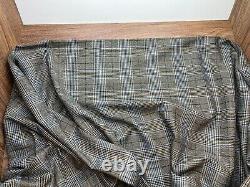 Ermenegildo Zegna 2.2m Tissu Pour Veste Sport / Blazer 100% Laine