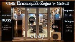 Ermenegildo Zegna Agnona 2.2m Tissu Pour Veste Sport / Blazer 100% Soie