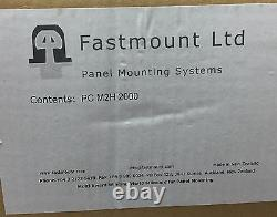 Fastmount Pc-m2h, Clip Standard. Heavy Duty Self Tapping Mâle. 2000 Pièces