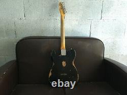 Fender Telecaster Custom Shop Heavy Relic 1 Pièce Corps De Frêne Sur Commande