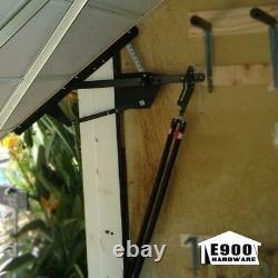 Garage Door Hardware Kit Universal One Piece Heavy Duty Steel Construction Home