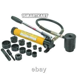 Heavy Duty 14 Pièce Hydraulique Perforatrice Driver Kit Commercial