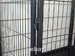 Heavy Duty 4 Piece Puppy Dog Play Pen Run Enclosure Welping Playpen Avec Étage 4