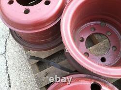 Heavy Duty Roue Pour 11.00 X15 Tire 6 Trous Budd Double Style 3 Pièces Nouveau