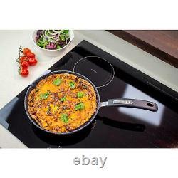Heavy Duty Tough Neverstick Non Stick 5 Piece Pots And Pans Kitchen Cookware Set