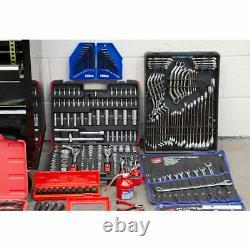 Hilka Mechanics Black Tool Kit 1730 Pièce Avec Coffre À 15 Tiroirs Lourds