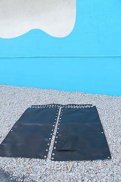 Hobie Cat 17 Principal Trampoline Nouveau Filet Noir 3 Pièce Avec Œillets Heavy Duty