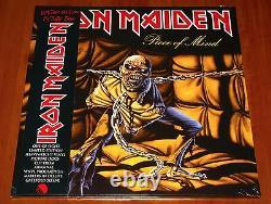 Iron Maiden Piece Of Mind Lp Picture Disc Heavy Vinyl Eu Limited Edition Nouveau
