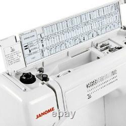 Janome Hd3000 Heavy Duty Machine À Coudre + 5 Pièces Vip Package