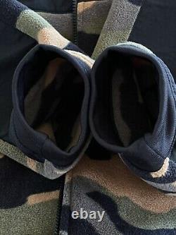 La Face Nord Denali Camouflage Polartec Reprece Heavy Fleece Men XL