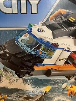 Lego City Coast Guard Heavy-duty Rescue Helicopter 60166 Kit De Construction 415 Pièce