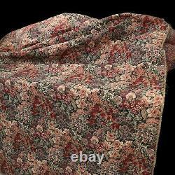 Meubles De Siècle Vtg 1997 Tapisserie Revêtement Tissu Floral 5+ Verges Grade 22