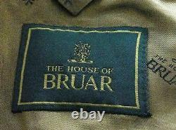 New Mens House Bruar Heavy Tweed Shooting 3 Piece Costume Sur Mesure 46r W40 X L33