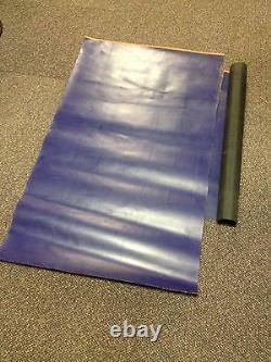 New Ocean Blue Orca Hypalon Tissu De Bateau Réparation De Patchs Lourds Ruban Gonflable