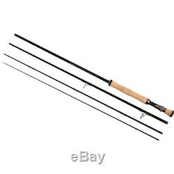 New Tfo Temple Fork Outfitters Bvk Tf08904b 9' 0 # 8 Poids 4 Piece Fly Rod + Sac