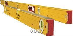 Nouveau Stabila 38532 Heavy Duty Magnetic Beam Level Set 2 Pieces 78 & 32 6064216