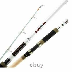 Okuma Battle Cat Catfish Fishing Rod 10 Ft Heavy 2 Piece Spinning Rod