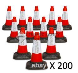 Pack De 200 Cônes De Circulation Lourds Du Royaume-uni (1 Pièce 450mm)