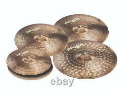 Paiste 900 Série 5 Pièces Ensemble De Cymbales Étendus Lourds / Pack De Voyage! /modèle-190hxto
