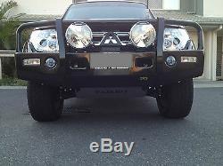 Pajero Nm-nx 2 Pièce Plate Inoxydable Bash Heavy Duty Par Custom Offroad