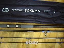 Penn Extreme Voyager 12' 3 Pièce 4-6 Oz Surf Rod Avec Twin Tips Light & Heavy