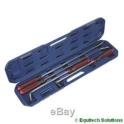 Sealey Ak9100 Prybar Set 4 Pièces D'équipement Lourd Atelier Garage D'outils À Main