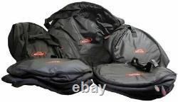 Skb 1skb-dbs3 5 Pièces Drum Travel Gig Bag Set 1skbdbs3 Fermetures Éclair Robustes