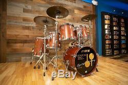 Sonor Horst Signature Lien Lourd Beech Drum Kit, 5 Pièces, Afrique Bubinga Pre-l